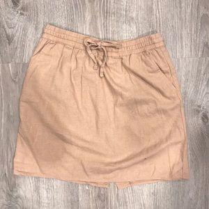 Forever 21 Linen Skirt